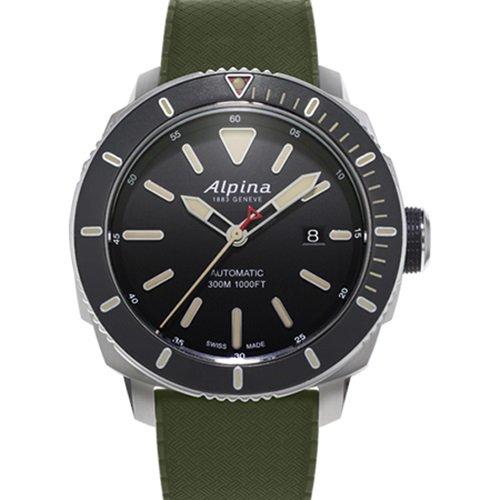 アルピナ/Alpina/腕時計/SEASTRONG DIVER/メンズ/スイスメイド/AL-525LGG4V6/ダイバー/トロピックラバー