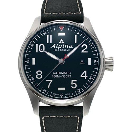 アルピナ/Alpina/腕時計/STARTIMER PILOT/メンズ/スイスメイド/AL-525NN4S6/パイロットウォッチ/ダークブルー