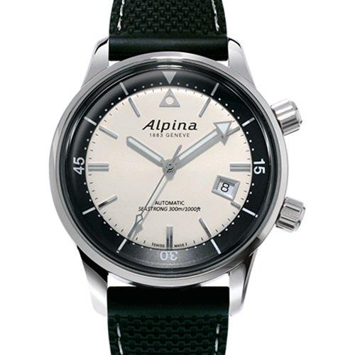 アルピナ/Alpina/腕時計/SEASTRONG DIVER/メンズ/スイスメイド/AL-525S4H6/ダイバーズウォッチ/クリーム