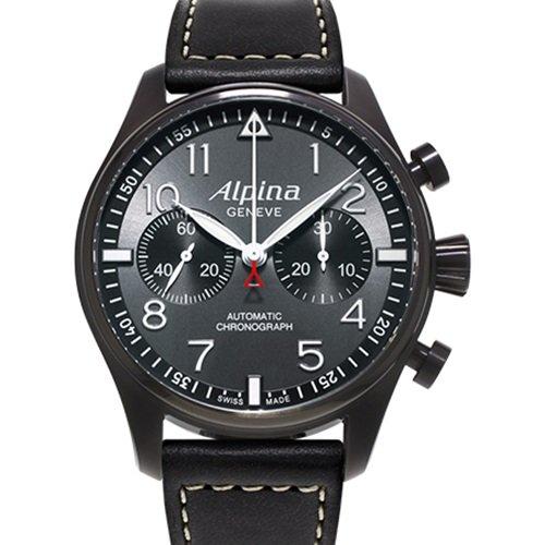 アルピナ/Alpina/腕時計/STARTIMER PILOT/メンズ/スイスメイド/AL-860GB4FBS6/パイロットウォッチ/クロノグラフ