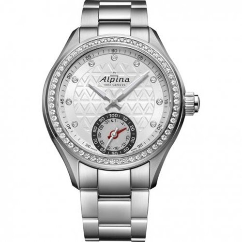 アルピナ/Alpina/腕時計/HOROLOGICAL SMARTWATCH/レディース/スイスメイド/AL-285STD3CD6B/ダイヤモンドベ…