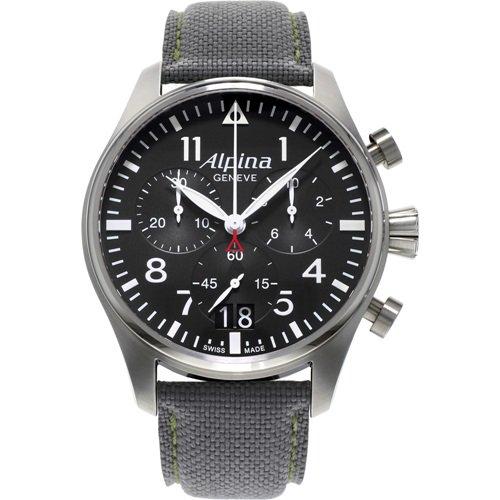 アルピナ/Alpina/腕時計/STARTIMER BIG DATE CHRONOGRAPH/メンズ/スイスメイド/AL-372B4S6/クロノグラフ