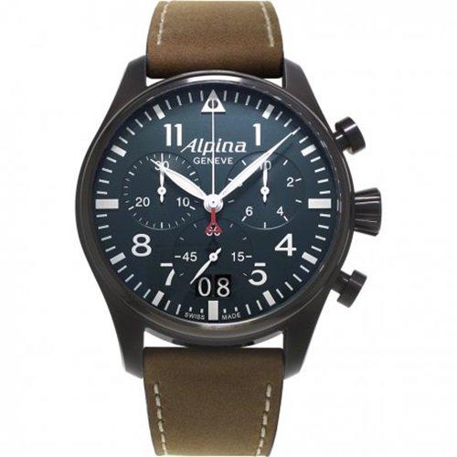 アルピナ/Alpina/腕時計/STARTIMER PILOT/メンズ/スイスメイド/AL-372N4FBS6/クロノグラフ/ネイビー