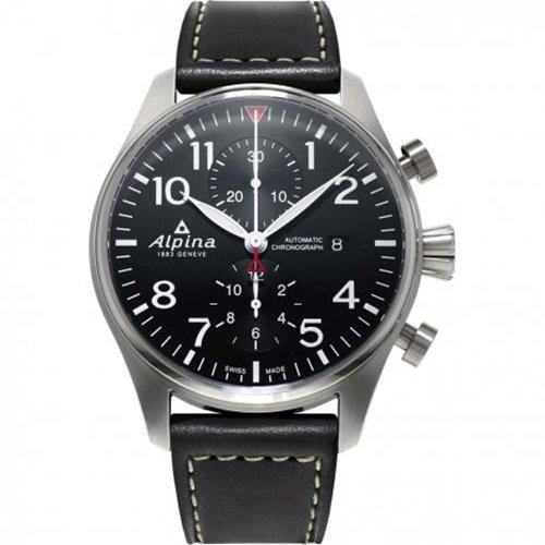 アルピナ/Alpina/腕時計/STARTIMER PILOT/メンズ/スイスメイド/AL-725B4S6/クロノグラフ/ブラック
