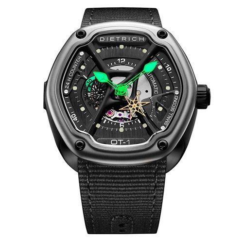 ディートリヒ/Dietrich1969/腕時計/ORGANIC TIME/OT-1/メンズ/スイス/ブラック×ブラック