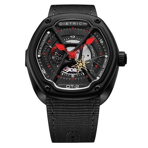 ディートリヒ/Dietrich1969/腕時計/ORGANIC TIME/OT-2/メンズ/スイス/ブラック×ブラック