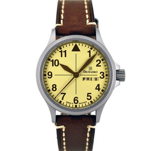 ダマスコ/Damasko/腕時計/ヴィンテージ/DA20 VINTAGE/ドイツメイド/サンドカラー×ブラウン