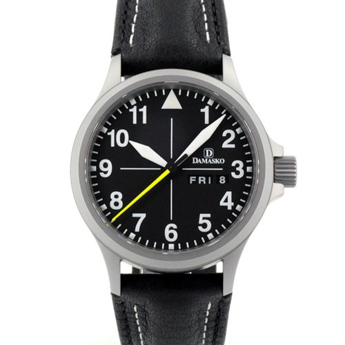 ダマスコ/Damasko/腕時計/クラシック/DA36/ドイツメイド/オートマティック/ブラック×ブラック