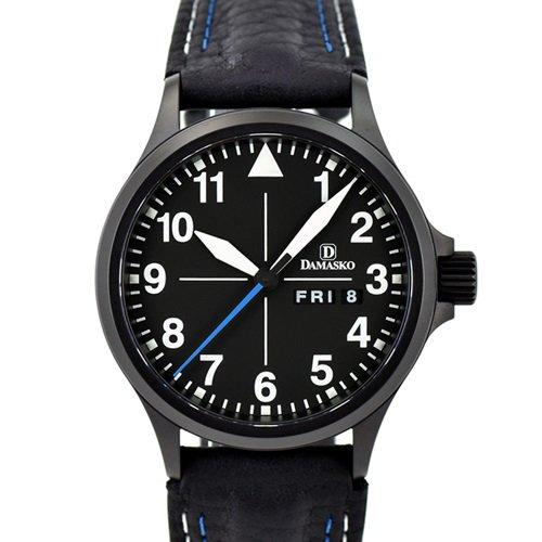 ダマスコ/Damasko/腕時計/クラシック/DA36 BLACK/ドイツメイド/オートマティック/ブラックダイアル×ブラックケース