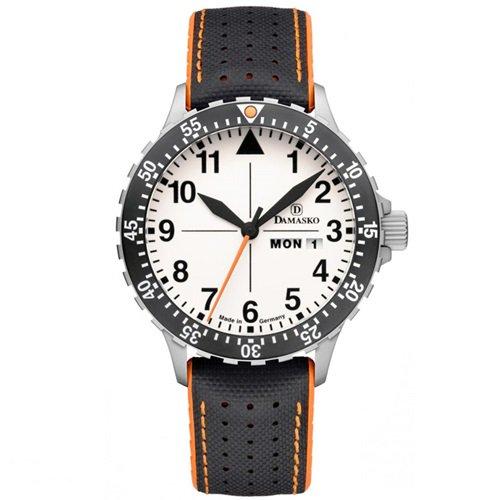 ダマスコ/Damasko/腕時計/クラシック/DA43/ドイツメイド/オートマティック/ホワイトダイアル×ブラックラバー