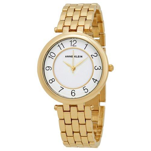 アンクライン 時計/Anne Klein/2700WTGB/ホワイトxゴールド