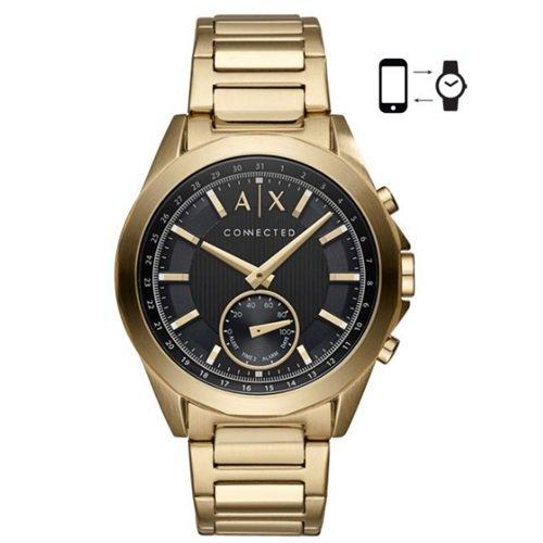 アルマーニエクスチェンジ/Armani Exchange/腕時計/スマートウォッチ/Hybrid Smartwatch/AXT1008/ゴールド