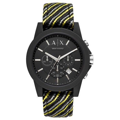 アルマーニエクスチェンジ/Armani Exchange/腕時計/メンズ/OUTERBANKS/クロノグラフ/AX1334/シリコンケース