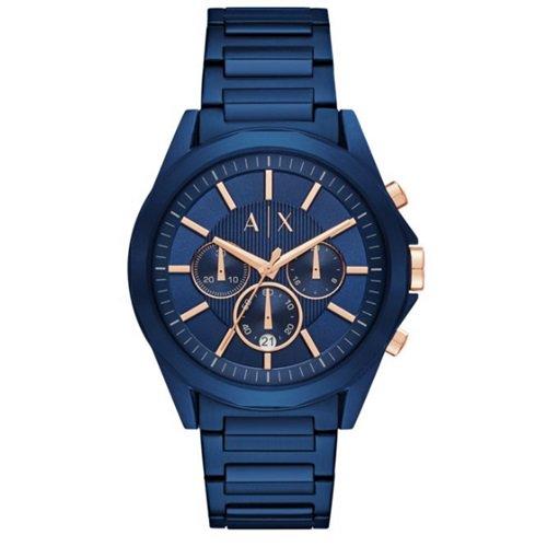 アルマーニエクスチェンジ/Armani Exchange/腕時計/メンズ/クロノグラフ/AX2607/オールネイビーブルー