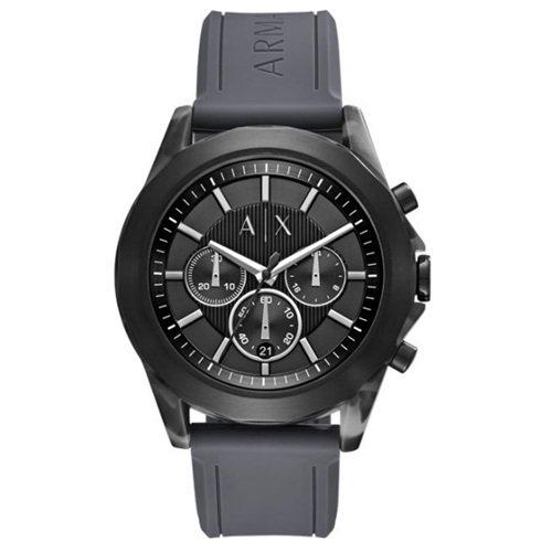 アルマーニエクスチェンジ/Armani Exchange/腕時計/メンズ/クロノグラフ/DREXLER/AX2609/ブラック×グレーラバー