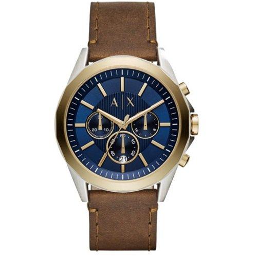 アルマーニエクスチェンジ/Armani Exchange/腕時計/メンズ/クロノグラフ/AX2612/ブルー×ゴールド×ブラウン