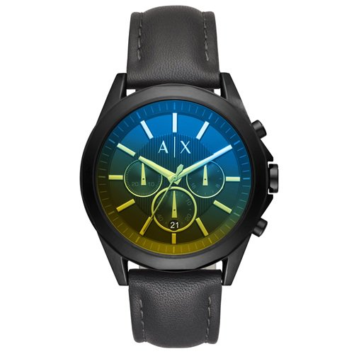 アルマーニエクスチェンジ/Armani Exchange/腕時計/メンズ/クロノグラフ/AX2613/偏光クリスタル/ブラック