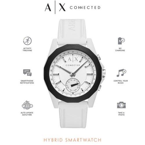 アルマーニエクスチェンジ/Armani Exchange/腕時計/スマートウォッチ/Hybrid Smartwatch/AXT1000/ホワイト