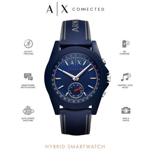 アルマーニエクスチェンジ/Armani Exchange/腕時計/スマートウォッチ/Hybrid Smartwatch/AXT1002/ネイビーブルー