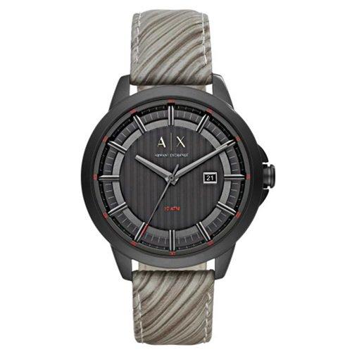 アルマーニエクスチェンジ/Armani Exchange/腕時計/メンズ/Smart/AX2264/ブラック/グレーレザー