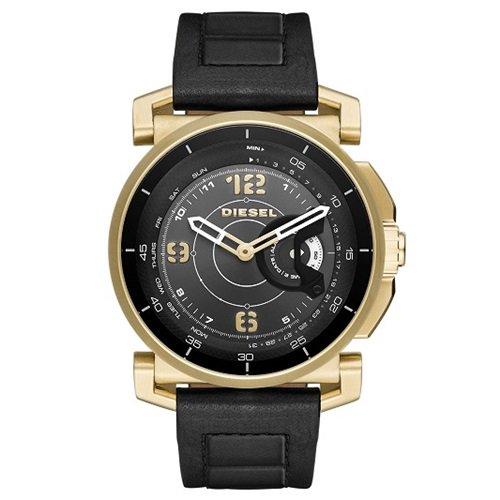 ディーゼル/Diesel/腕時計/DieselOn/ディーゼルオン/ハイブリッドスマートウォッチ/メンズ/DZT1004/ゴールド×ブラック