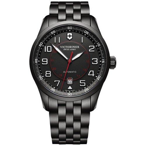 ビクトリノックス/VICTORINOX Swiss Army/腕時計/Airboss/エアボス/241740/オートマチック/日本未発売/ブラックスチール