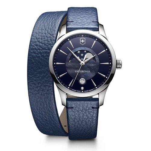 ビクトリノックス/VICTORINOX Swiss Army/腕時計/Alliance Small/アライアンス/レディース/241755/クォーツブルー×ダブルラップ