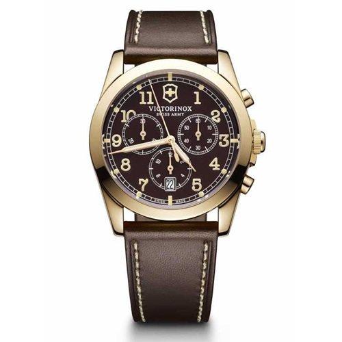 ビクトリノックス/VICTORINOX Swiss Army/腕時計/Infantry/インファントリー/メンズ/241647/クロノグラフ/ブラウン