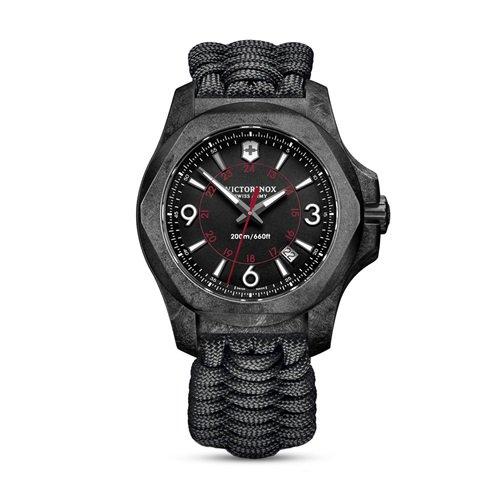 ビクトリノックス/VICTORINOX Swiss Army/腕時計/I.N.O.X./イノックス/メンズ/241776/カーボン/ブラック