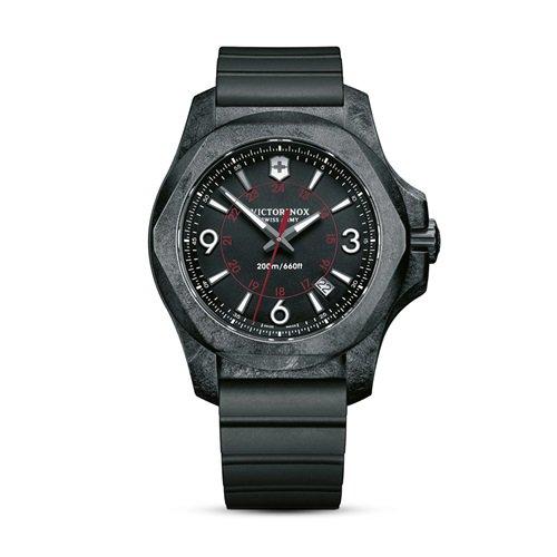 ビクトリノックス/VICTORINOX Swiss Army/腕時計/I.N.O.X./イノックス/メンズ/241777/カーボン/ラバーストラップ