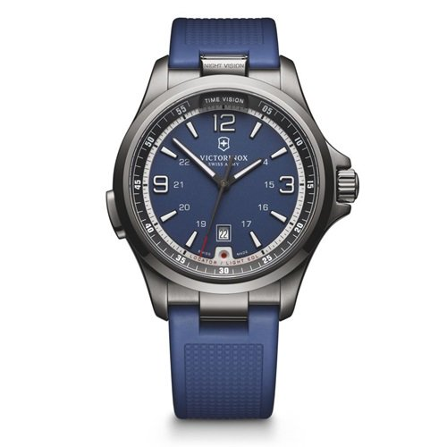 ビクトリノックス/VICTORINOX Swiss Army/腕時計/Night Vision/ナイトビジョン/メンズ/クォーツ/241707/ブルー