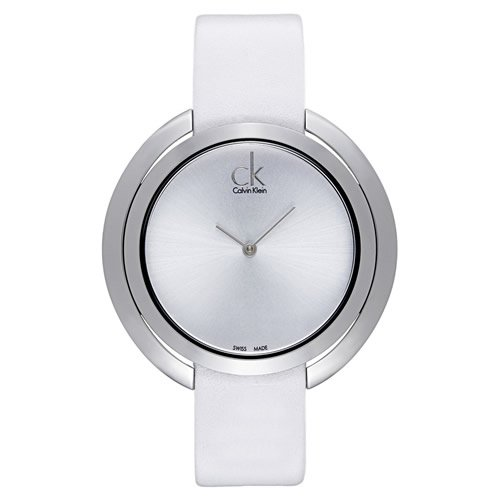 purchase cheap 41b8f 68e4a Calvin Klein/カルバンクライン/レディース腕時計/アグレゲート/K3U231L6/ホワイト×シルバー -  腕時計の通販ならワールドウォッチショップ