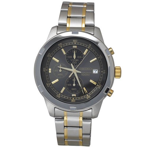 セイコー/SEIKO/逆輸入/腕時計/Chronograph/クロノグラフ/SKS425/メンズ/クォーツ/グレー×ツートーン