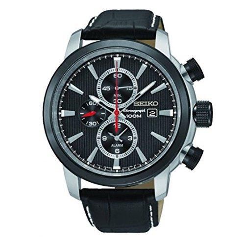 セイコー/SEIKO/逆輸入/腕時計/Chronograph/クロノグラフ/SNAF47P2/メンズ/クォーツ/ブラック×ブラック