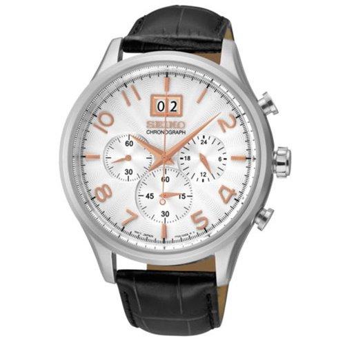 セイコー/SEIKO/逆輸入/腕時計/Chronograph/クロノグラフ/SPC087/メンズ/クォーツ/シルバー×グレー