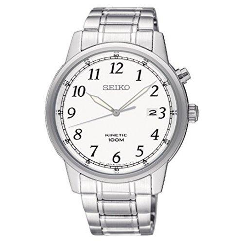 セイコー/SEIKO/逆輸入/腕時計/Kinetic/キネティック/SKA775/メンズ/オートクォーツ/ジャパンメイド/ホワイト