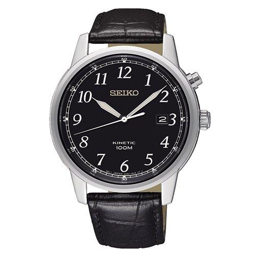 セイコー/SEIKO/逆輸入/腕時計/Kinetic/キネティック/SKA781/メンズ/オートクォーツ/ジャパンメイド/ブラック