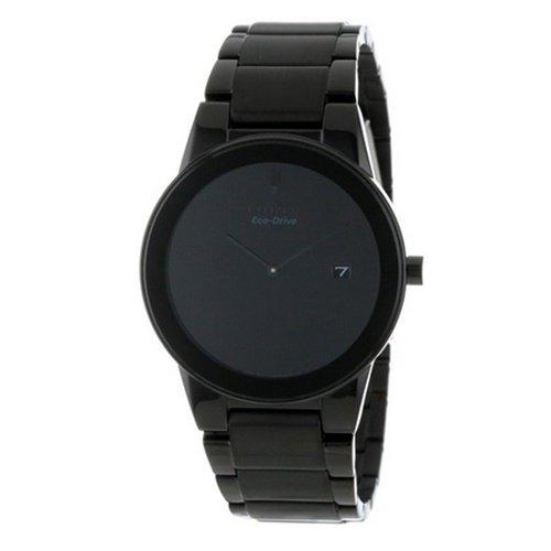シチズン/CITIZEN/Axiom/アクシオム/腕時計/メンズ/AU1065-58E/エコドライブ/オールブラック