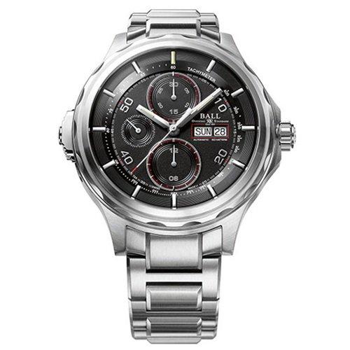 ボールウォッチ/BALL WATCH/ENGINEER MASTER II/腕時計/メンズ/オートマチック/CM3888D-S1J-BK/クロノグラフ/ブラック