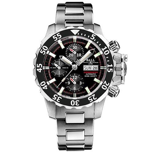 ボールウォッチ/BALL WATCH/ENGINEER HYDROCARBON/腕時計/メンズ/オートマチック/DC3026A-SC-BK/クロノグラフ/ブラック