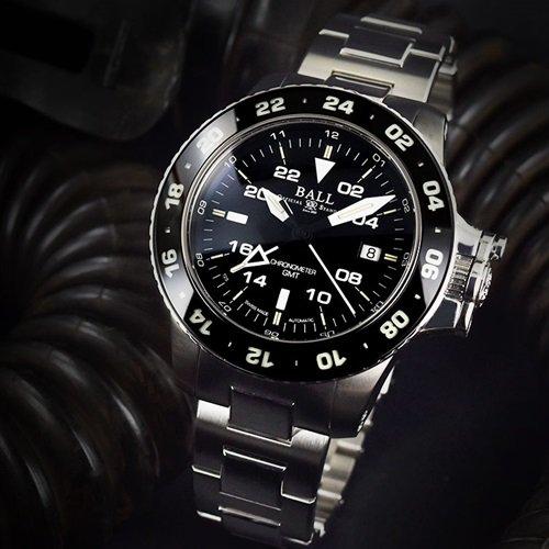 ボールウォッチ/BALL WATCH/ENGINEER HYDROCARBON AEROGMT II/腕時計/メンズ/オートマチック/DG2018C-SC-BK/ブラック