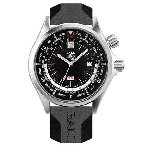 ボールウォッチ/BALL WATCH/ENGINEER MASTER II/腕時計/メンズ/オートマチック/DG2022A-P3A-BK/ワールドタイム/ダイバーズ