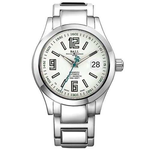 ボールウォッチ/BALL WATCH/ENGINEER II ARABIC /腕時計/メンズ/オートマチック/NM1020C-S4-WH/ホワイト