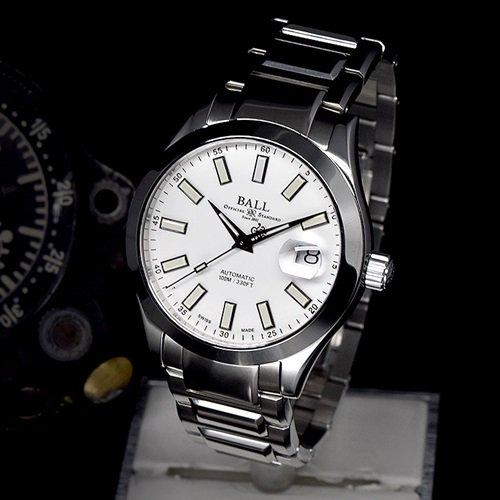 ボールウォッチ/BALL WATCH/ENGINEER MASTER II MARVELIGHT/腕時計/メンズ/オートマチック/NM2026C-S16-WH/ホワイト