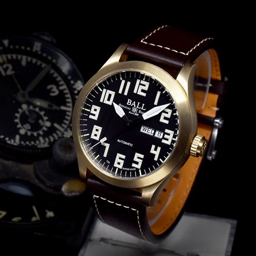 ボールウォッチ/BALL WATCH/ENGINEER III PILOT BRONZE/腕時計/メンズ/オートマチック/NM2186C-L3J-BK/ブラック