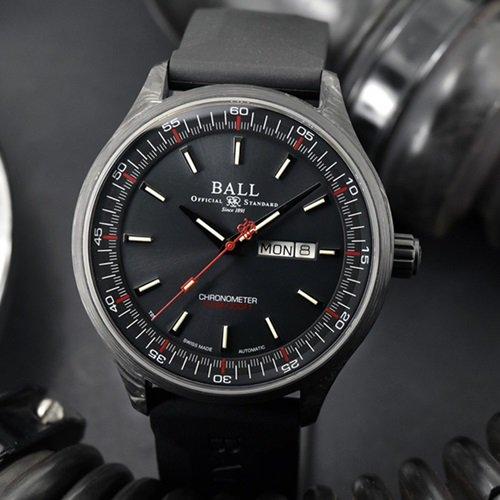 ボールウォッチ/BALL WATCH/ENGINEER II VOLCANO/腕時計/メンズ/オートマチック/NM3060C-PCJ-GY/ブラック