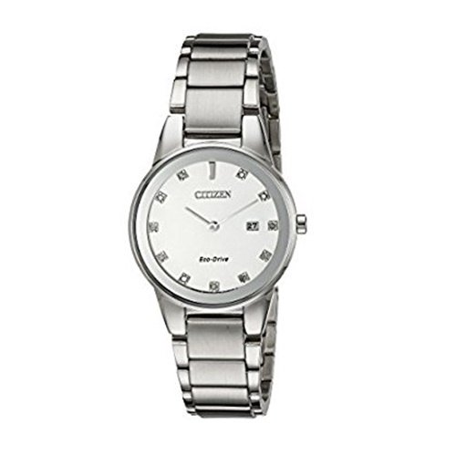 シチズン/CITIZEN/Axiom/アクシオム/腕時計/レディース/GA1050-51B/エコドライブ/シルバー/ダイヤモンド