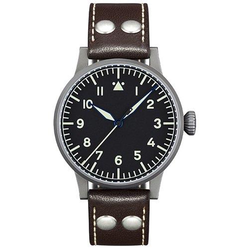 ラコ/LACO/腕時計/オリジナルパイロットウォッチ/手巻き/861746/Memmingen/メミンゲン/ドイツメイド/ミリタリー/ブラック×ブラウン