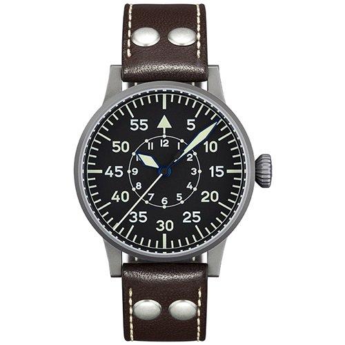 ラコ/LACO/腕時計/オリジナルパイロットウォッチ/手巻き/861751/Dortmund/ドルトムント/ドイツメイド/ミリタリー/ブラック×ブラウン