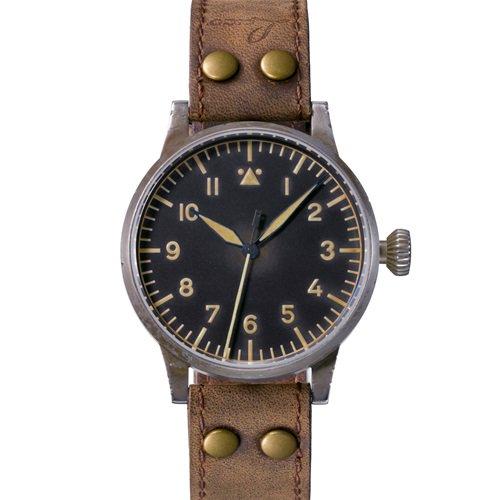 ラコ/LACO/腕時計/オリジナルパイロットウォッチ/24自動巻き/861931/Munster Erbstuck/ミュンスターエアブシュトゥック/ドイツメイド/ミリタリー
